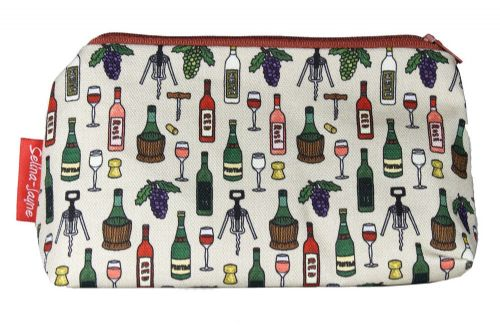 Selina-Jayne Wine Limited Edition Designer Cosmetic Bag